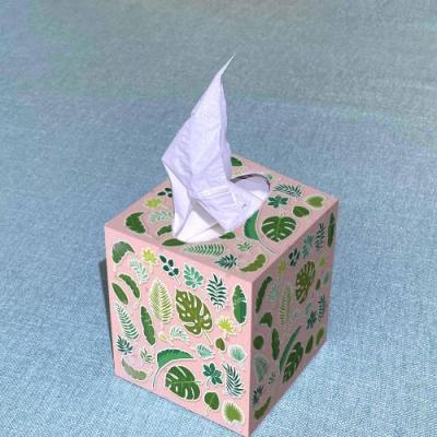 Khăn giấy hộp vuông T.ssue 100 tờ