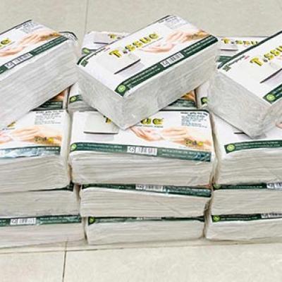 Khăn giấy lau tay T.ssue
