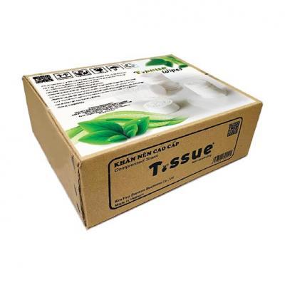 Khăn giấy nén T.ssue 500 viên/thùng